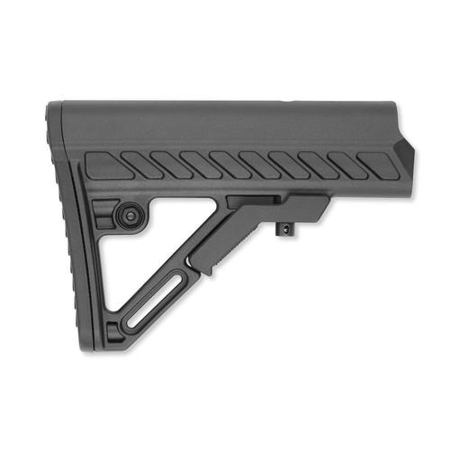 Leapers UTG AR-15 PRO Model 4 Ops Ready S2 Stock Mil-Spec Polymer Black RBUS2BMS?>