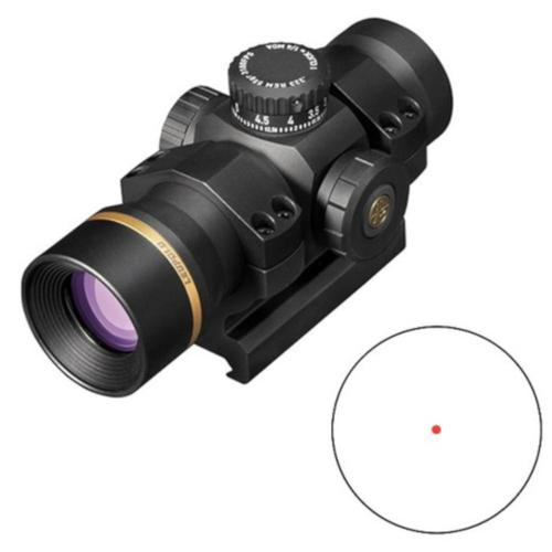 Leupold Freedom Red Dot Sight 34mm Tube 1x 34 1.0 MOA Dot BDC Turret with Mount 176533?>