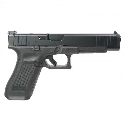 "Glock 34 Gen5 MOS Pistol 9mm 5.31"" Black?>"