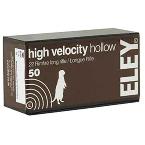 Eley HV Ammo 22LR HP 38gr 05200 - Box of 50?>