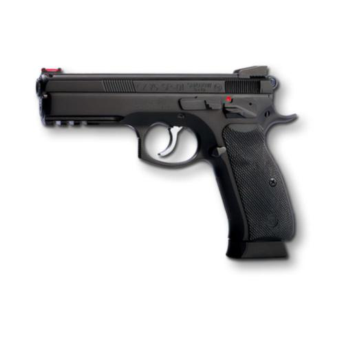 "CZ 75 SP-01 Shadow 9mm Semi-Auto Pistol 4.5"" Barrel 10 Round Black 0424-0734-ADAFABX?>"