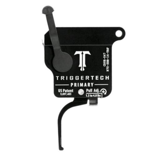 TriggerTech Remington 700 Primary Drop In Replacement Trigger Right Hand/Bolt Release/Flat Lever PVD Black Finish R70-SBB-14-TBF?>