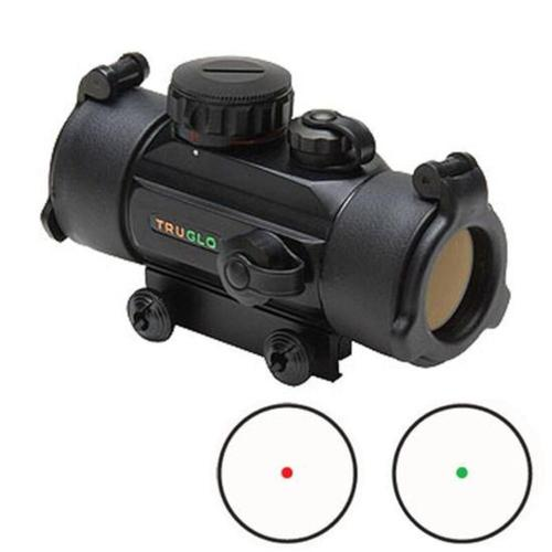 Truglo Dual Color Red Dot Sight 30mm 5 MOA Dot Black TG8030DB?>