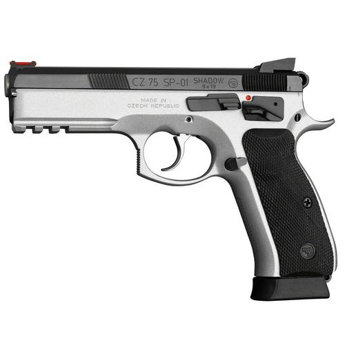 "CZ 75 SP-01 Shadow 9mm Semi-Auto Pistol Dual Tone 4.6"" Barrel?>"