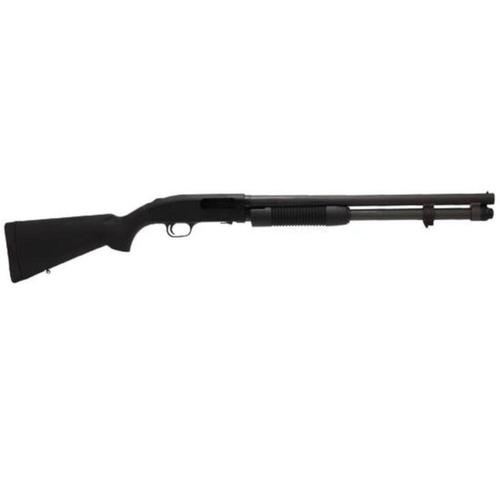 "Mossberg 590A1 Pump Action Shotgun 12 Gauge 20"" Barrel 3"" Chamber 8 Rounds Synthetic Stock Parkerized Finish 51660?>"