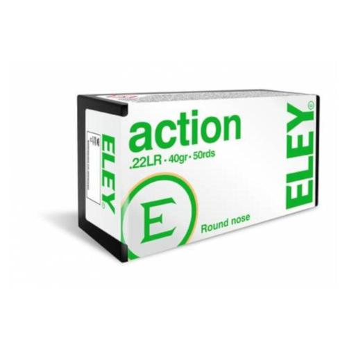 Eley Action Ammo 22LR LRN 40grs 03210 - Box of 50?>