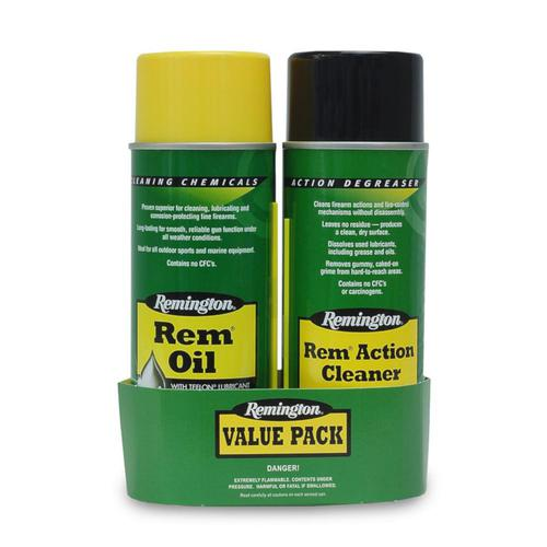 Remington Rem Oil & Rem Action Cleaner Value Pack?>