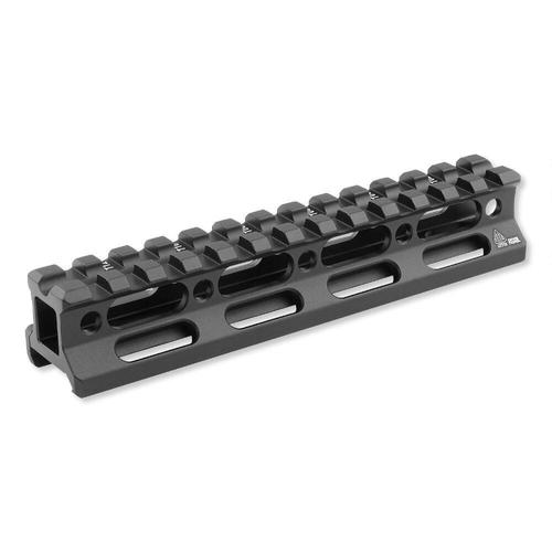 "Leapers UTG Super Slim Picatinny Riser Mount 0.83"" Height 13 Slots Aluminum Black MT-RSX8L?>"