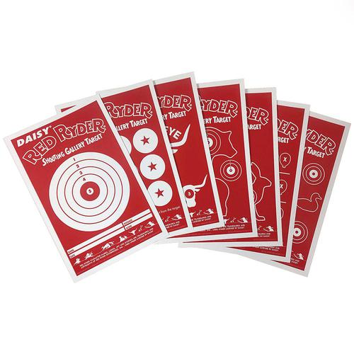 Daisy Red Ryder Shooting Gallery Targets Pack of 25?>