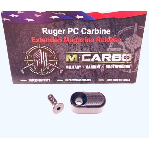 MCARBO Ruger PC Carbine Extended Magazine Release 222240002222?>
