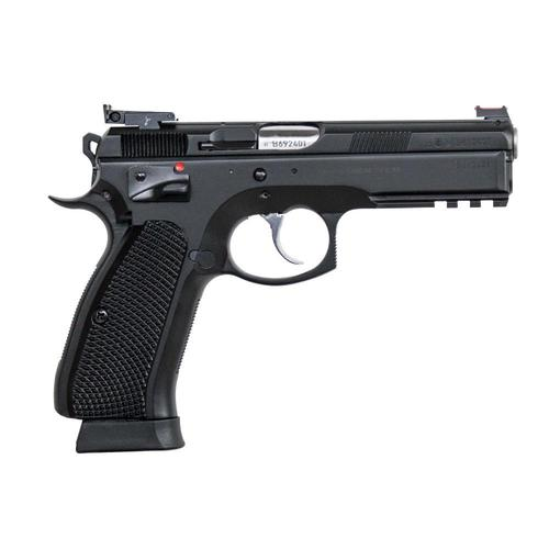 "CZ 75 SP-01 Shadow Target II Custom Shop Semi-Auto Pistol 9mm 4.6"" Barrel 91760-C?>"