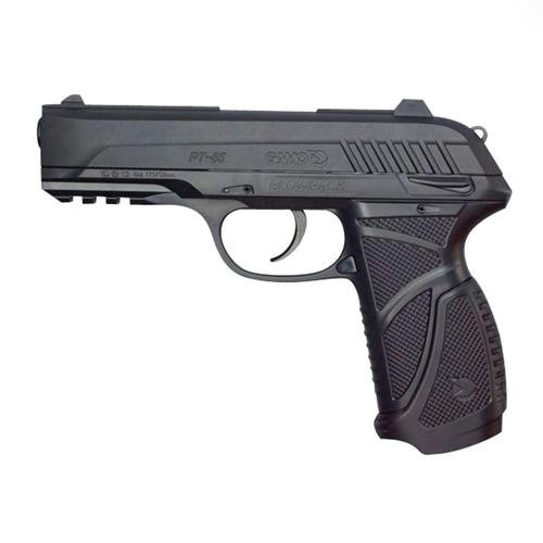 Gamo PT-85 Blowback CO2 .177 Pellet Pistol, 16rd, Textured Polymer Grip?>