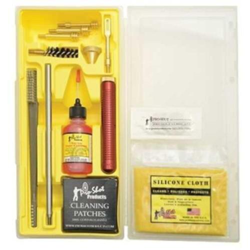 Pro-Shot Classic Pistol Cleaning Kit 357 38 40 and 45 Caliber 9mm 10mm?>