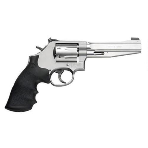 "S&W Model 686 Plus Pro Series Revolver .357 Magnum 5"" Barrel 7 Rounds Synthetic Grips Stainless Steel Frame Satin Stainless Finish 178038?>"