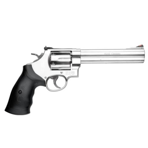 "S&W 629 Classic Stainless Steel 6.5"" Barrel .44 Mag Revolver 163638?>"