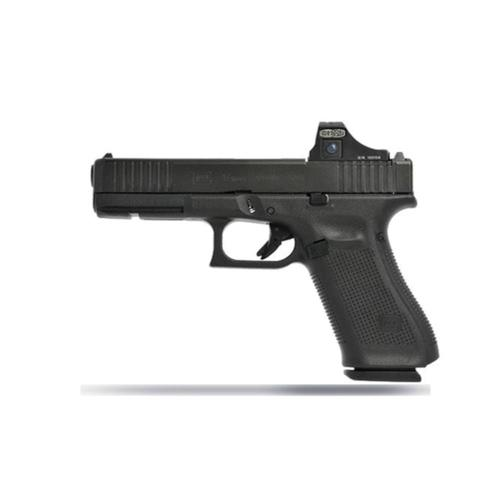 "Glock 17 Gen5 MOS Semi-Auto Pistol 9mm 4.49"" Barrel 10 Rounds GNS (Glock Night Sights) Optics Ready UA175S701MOS?>"