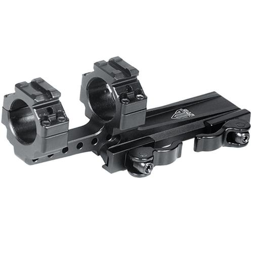 "Leapers UTG Integral 1"" Offset QD Ring Mount 2 Top Slots 100mm Base M1S35070R2?>"