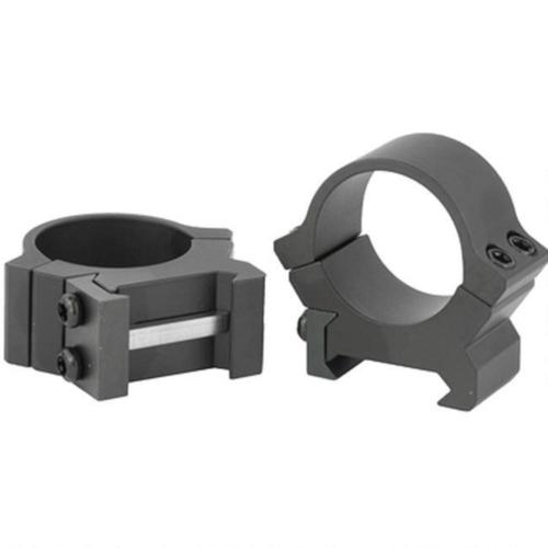 Leupold PRW2 Permanent Weaver/Picatinny Style Scope Rings 30mm Tube Medium Height Machined Steel Matte Black 174084?>