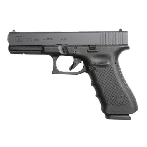 "Glock 17C Gen4 Semi-Auto Pistol 9mm 4.48"" Barrel Compensated Safe Action UG1759201?>"