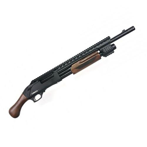 "Canuck Renegade Pump Action Shotgun 12 Gauge 3"" 17"" Barrel 3 Mobile Chokes Raptor Grip Wood Furniture?>"