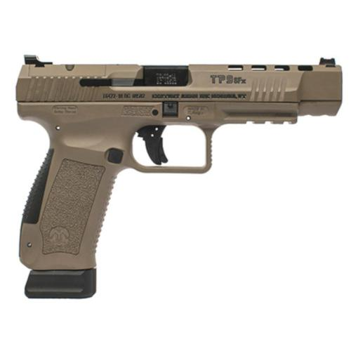 Century Arms Canik TP9SFx Pistol 9mm 10 Rounds Optic-Ready Tan HG4192D-N?>