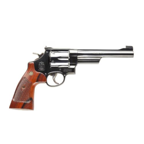 "S&W 25 Classic Revolver 45 Long Colt 6.5"" Barrel Walnut Grip Blue Finish 6 Rounds 150256?>"