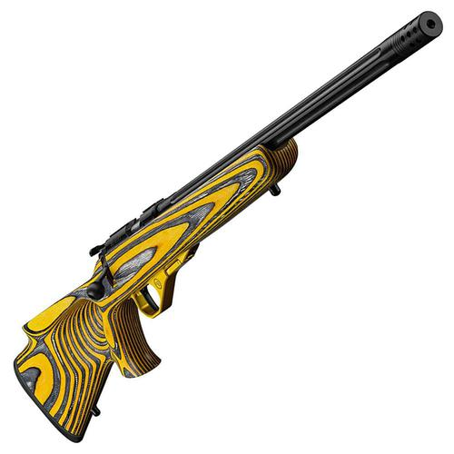 CZ 455 Thumb Hole Yellow Kanel .22LR, Fly Weight Trigger, Compensator Bolt Action Target Rifle?>