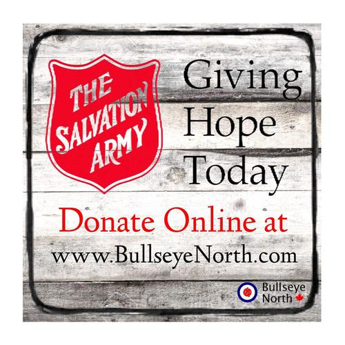 Donation to the Salvation Army - Giving Hope Today?>
