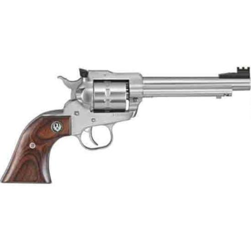 "Ruger Single Ten Single Action Revolver .22LR 5.5"" Barrel 10 Rounds Wood Grips Stainless Finish 8100?>"