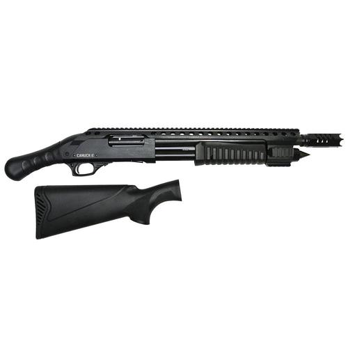 "Canuck Renegade Pump Action Shotgun 12 Gauge 3"" 14"" Barrel 3 Mobile Chokes Synthetic Raptor Grip and Fixed Stock Included?>"