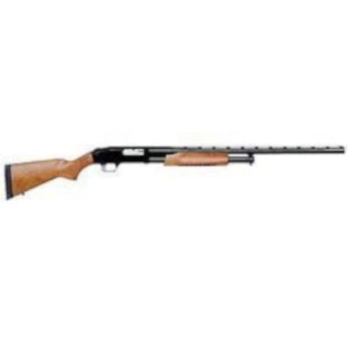 "Mossberg 500 Pump Action All Purpose Field Shotgun 12 Gauge 28"" Ported Barrel 6 Rounds Twin Bead Sights Wood Stock 50120?>"