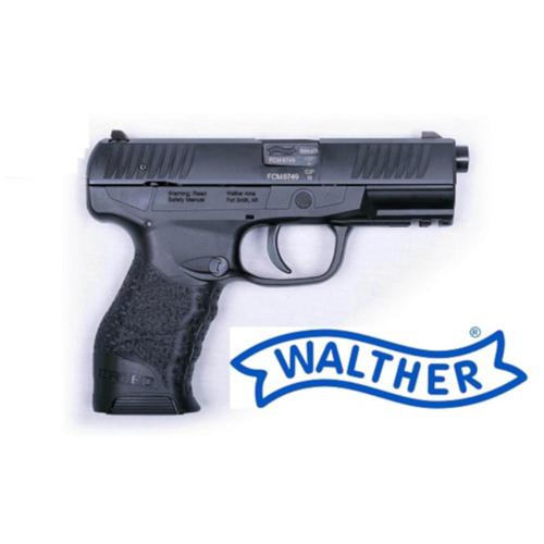 "Walther Creed Semi-Auto Pistol 9mm 4.25"" Barrel 10 Rounds Polymer Frame Black 2823985?>"