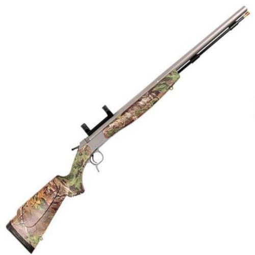 "CVA Optima V2 Muzzleloader Rifle .50 Caliber 26"" Barrel Realtree Xtra Green Hardwood Finish PR2022SM?>"