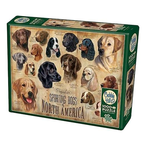 Cobble Hill Sporting Dogs Puzzle - 1000 pieces?>
