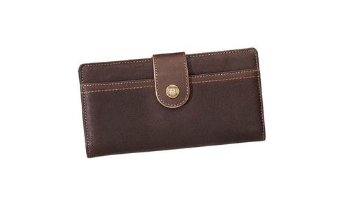 Cabela's Women's Classic Leather Bi-Fold Clutch  Wallet?>