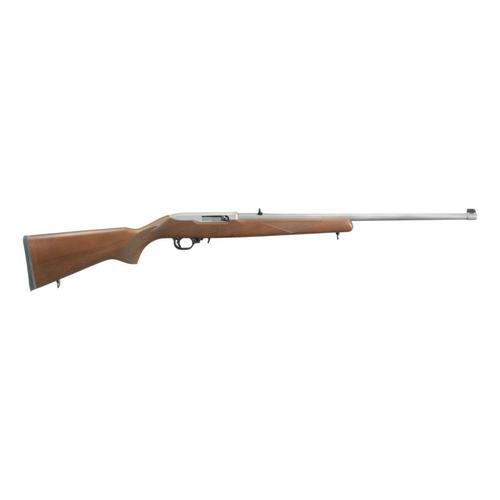 Ruger® 10/22® Birchwood Sporter Semi-Automatic Rifle - Stainless Steel?>