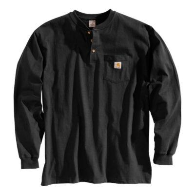 Carhartt Long Sleeve Workwear Henley Shirt?>