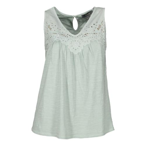 Natural Reflections® Women's Eyelet Tank Top?>