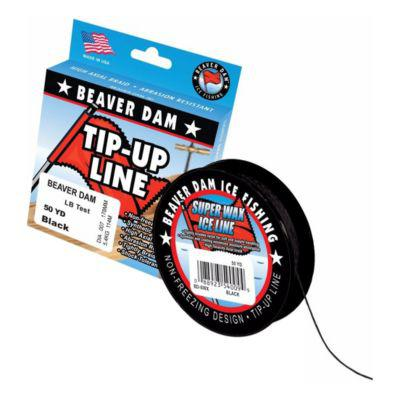Beaver Dam Super Wax Tip Up Line?>