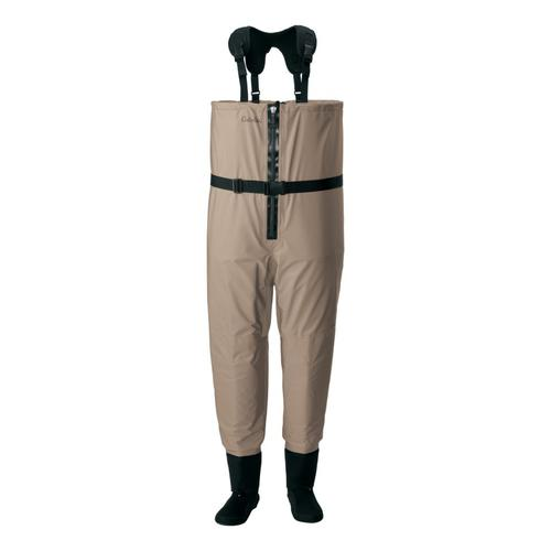 Cabela's Men's Premium Zip Breathable Stockingfoot Fishing Waders with 4MOST DRY-PLUS™?>