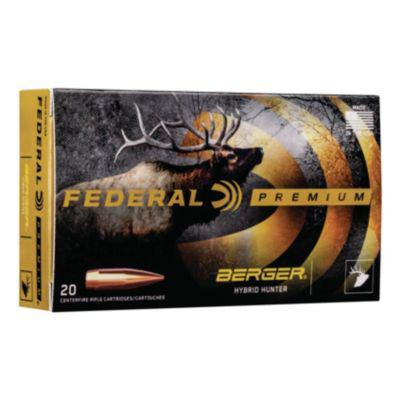 Federal® Berger® Hybrid Hunter Ammunition?>