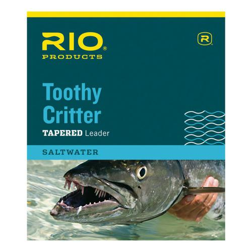 RIO® Toothy Critter Hand-Tied Leaders?>