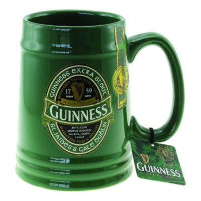 Guinness® Green Ireland Collection Ceramic Mug Tankard?>