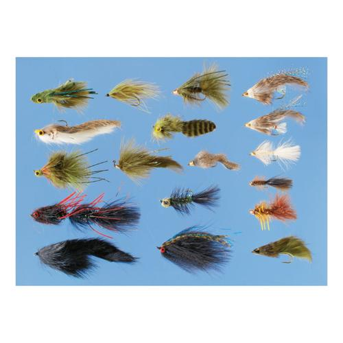 Cabela's 18-Piece Ultimate Streamer Assortment?>
