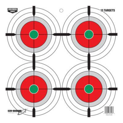 "Birchwood Casey Eze-Scorer™ 12"" Multiple Bull's-Eyes Target?>"