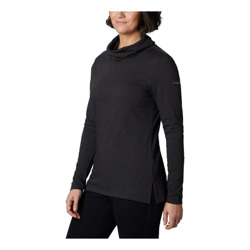 Columbia™ Women's Canyon Point™ Cowl Neck Shirt?>