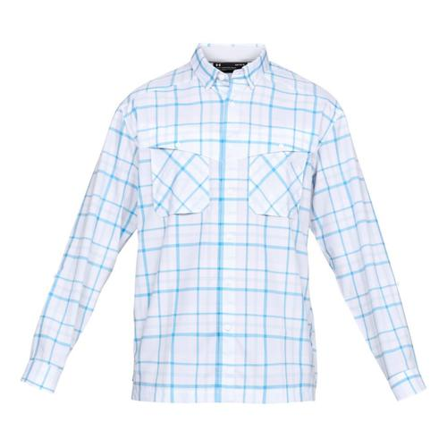 Under Armour® Men's Tide Chaser Plaid Long Sleeve Shirt?>
