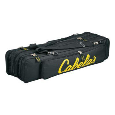 Cabela's Deluxe Twelve Ice-Rod Bag?>