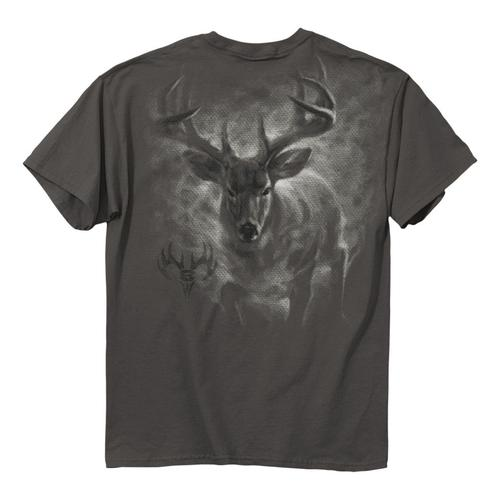 Buck Wear Men's Full Steam Ahead Graphic T-Shirt?>
