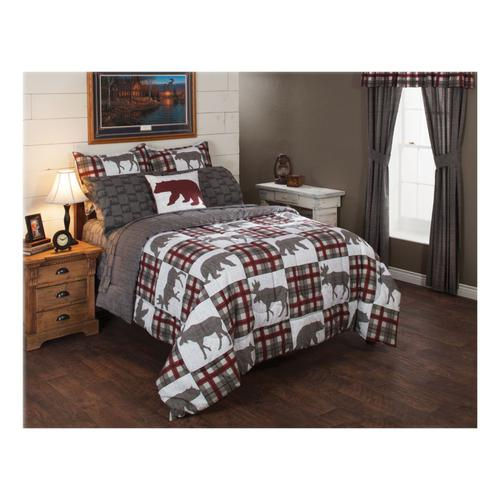White River Alaskan Wildlife Seven-Piece Bedding Set?>